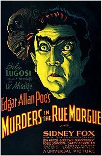 <i>Murders in the Rue Morgue</i> (1932 film) 1932 film
