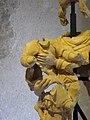 Musée archéologique de Grenoble Statue de Vierge à l'Enfant (détail enfant).JPG
