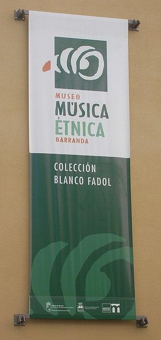 Barranda - Image: Museo de Música Étnica de Barranda