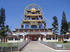 Le Golden Temple de Bylakuppe