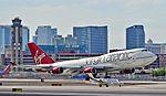 N922KM Learjet 45XR serial 340 - G-VXLG Virgin Atlantic Airways Boeing 747-41R (cn 29406-1177) Ruby Tuesday (18049573188).jpg