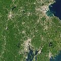 NASA Satellite Captures Super Bowl Cities - Boston-Providence (16217392998).jpg