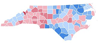 1992 United States presidential election in North Carolina - Image: NC1992