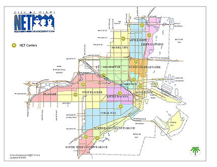 Map of Miami neighborhoods