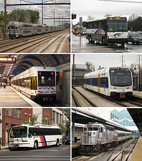 NJ Transit public transit authority in the U.S. state of New Jersey