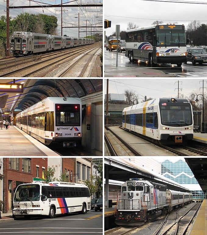 Light Rails: File:NJT Services Samples Rail Bus And Light Rail.jpg
