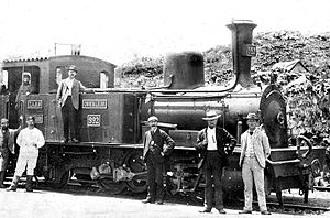 NZASM 32 Tonner 0-4-2RT - NZASM 32 Tonner rack locomotive no. 992, c. 1895