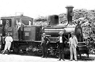 NZASM 32 Tonner 0-4-2RT rack and pinion steam locomotive used in pre-Union era in South Africa