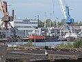 Nafta Pumer 1 Lotos at Quay 36 in Port of Paljassaare Tallinn 19 July 2017.jpg