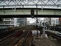 Nankai Imamiyaebisu Station platform - panoramio (13).jpg