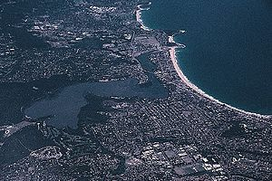 Narrabeen - Narrabeen, including Narrabeen Beach and the north and south divisions on either side of the lagoon