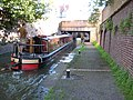 Narrowboat on the Worcester and Birmingham Canal - geograph.org.uk - 924710.jpg