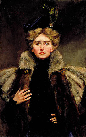 Natalie Clifford Barney - Natalie Clifford Barney, painted in 1896 by her mother Alice Pike Barney