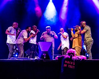 Naturally 7 - Naturally 7  at the Zelt-Musik-Festival 2018 in Freiburg, Germany