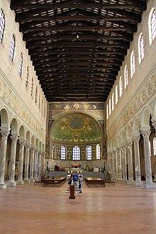 Basilica of Sant'Apollinare in Classe - Wikipedia