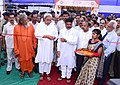 Naveen Patnaik and the Minister of State for Petroleum and Natural Gas (Independent Charge), Shri Dharmendra Pradhan jointly inaugurating the newly established Skill Development Institute, at Bhubaneswar, in Odisha.jpg