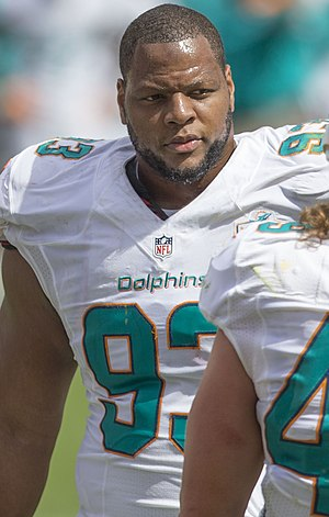 Ndamukong Suh - Suh with the Miami Dolphins in 2015