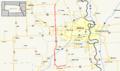 Nebraska Highway 31 map.png