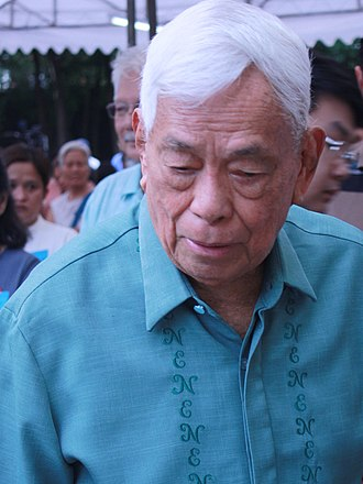 Aquilino Pimentel Jr. - Aquilino Pimentel Jr serving as a guest speaker at a 2018 event the Bantayog ng mga Bayani, honoring the martyrs and heroes who fought the Martial Law regime of Ferdinand Marcos.