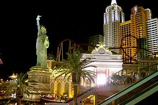 Big Apple Coaster Roller coaster in Las Vegas, Nevada