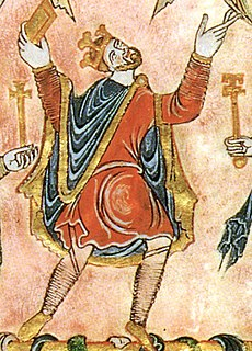 Anglo-Saxon king of England