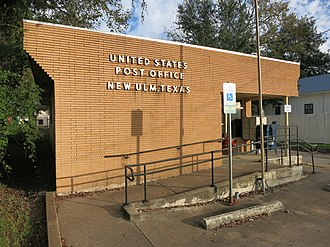 New Ulm, Texas - Image: New Ulm TX Post Office