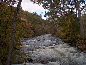 Newfound River (New Hampshire) - The Newfound River in Bristol, New Hampshire