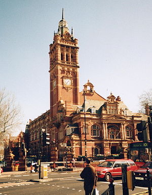 County Borough of East Ham - Image: Newham Town Hall