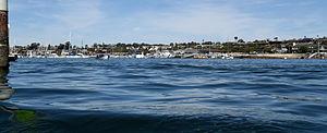 Balboa Peninsula, Newport Beach - Image: Newport Beach harbor california 6 march 9 2014 photo d ramey logan