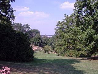 Nichols Arboretum Ann Arbor campus of the University of Michigan