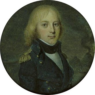 Nicolas François Conroux - Nicolas François Conroux painted at Naples by Jean-Baptiste Wicar.