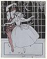 Nijinsky, Vaslav (1890-1950) - 1913 - Barbier, George (1882-1932) - Nijinsky (in Le Spectre de la Rose, Paris, 1911) - 1913 9.jpg