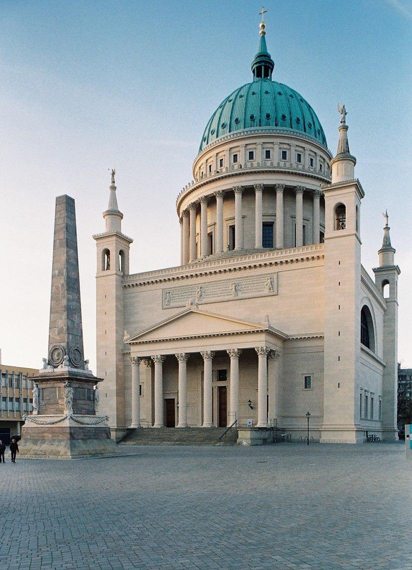 Nikolaikirche Potsdam S%C3%BCdansicht, Foto Gottfried Grafe
