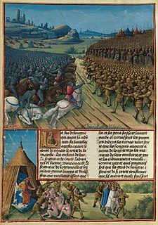 Battle of Nicopolis 1396 battle during the Ottoman wars in Europe
