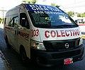 Nissan NV350 Urvan Taxi Colectivo.jpg