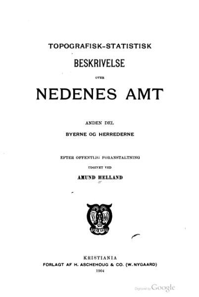 File:Norges land og folk - Nedenes amt 2.djvu