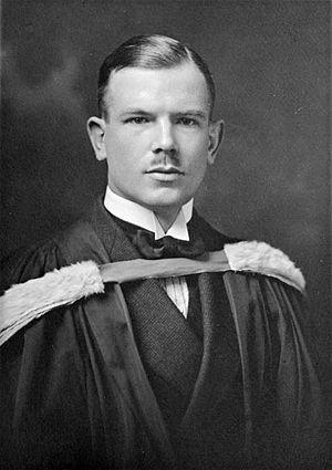 Norman Bethune - Image: Norman Bethune graduation 1922