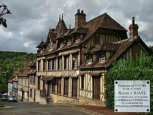 Le tombeau de Couperin - The house in Lyons-la-Forêt where Ravel composed Le Tombeau de Couperin