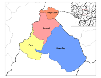 North Region (Cameroon) - Departments of North Cameroon