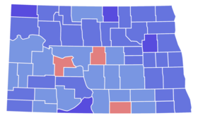North Dakota Senate Election Results by County, 1976.png