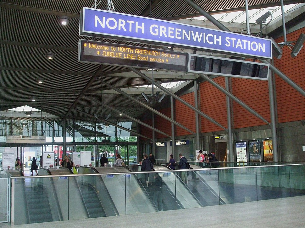 North Greenwich stn entrance