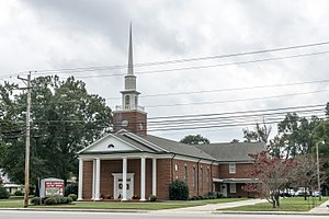 Lumberton, North Carolina - North Lumberton Baptist Church, 1901 Carthage Road