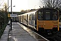 Northern Rail Class 150, 150150, Prescot railway station (geograph 3795647).jpg