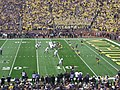 Northwestern vs. Michigan football 2012 06 (Northwestern on offense).jpg