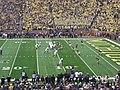Northwestern vs. Michigan football 2012 06 (Northwestern on offense).jpg