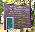 Notice Board, Whitgift Church - geograph.org.uk - 1053236.jpg