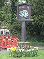 Nowton Village sign - geograph.org.uk - 1256453.jpg