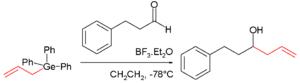 Organogermanium compound - Nucleophilic Addition With Organogermanium