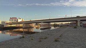 New Pueyrredón Bridge - Image: Nuevo puente Pueyrredon (2)