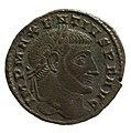 Nummus of Maxentius (YORYM 2001 10017) obverse.jpg